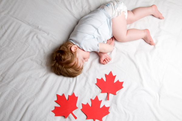 baby-boy-candian-flag